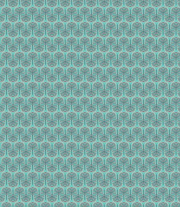 Fotomurales mexico papeles pintados lavables patron bosque sin fisuras 1 - Papel Tapiz Patrón Bosque Abstracto en Fondo Azul 01