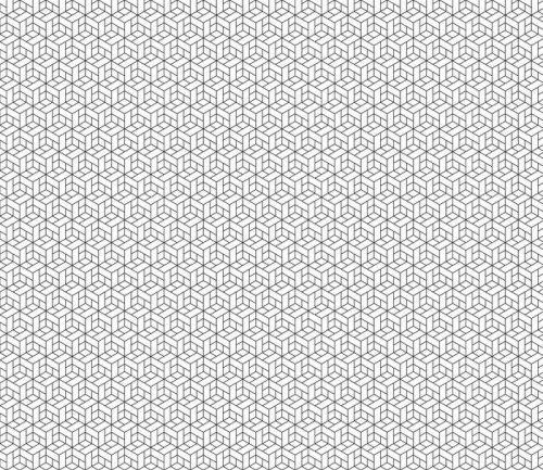 Fotomurales mexico papeles pintados lavables patron geometrico transparente con cubos 1 1 500x433 - Papel Tapiz Geométrico de Cubos 01