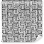 Fotomurales-mexico-papeles-pintados-lavables-patron-geometrico-transparente-con-cubos