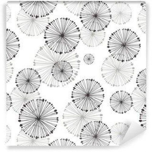 Fotomurales mexico papeles pintados lavables patron transparente de diente de leon 500x500 - Fotomurales Papel Tapiz Tropical y Naturaleza