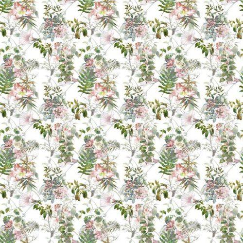 Fotomurales mexico papeles pintados lavables pintura de la acuarela de la hoja y las flores patron de fisuras en el fondo blanco 1 500x500 - Fotomural Papel Tapiz Barroco y Elegantes