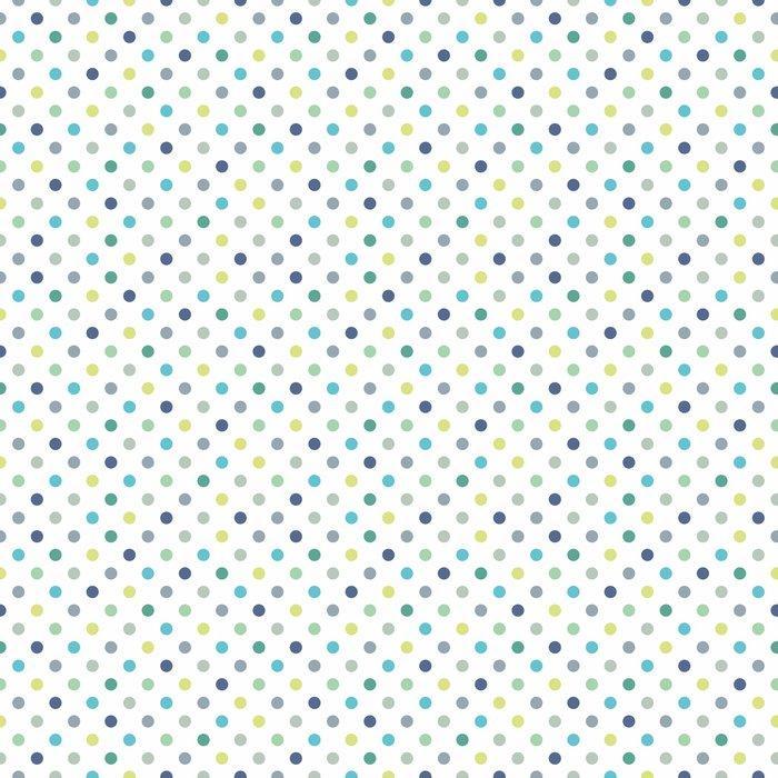 Papel tapiz puntos vector patr n de fondo sin fisura for Papel tapiz de patron para el pasillo