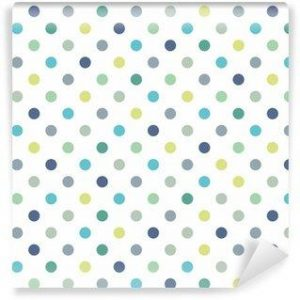 Fotomurales mexico papeles pintados lavables puntos vector patron de fondo sin fisuras lunares de colores 300x300 - Papel Tapiz