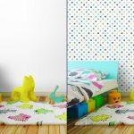 Fotomurales-mexico-papeles-pintados-lavables-puntos-vector-patron-de-fondo-sin-fisuras-lunares-de-colores 4