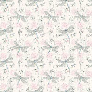 Fotomurales mexico papeles pintados lavables ronoso sin fisuras patron floral con las libelulas 1 300x300 - Papel Tapiz