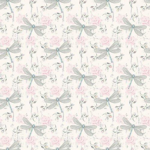 Fotomurales mexico papeles pintados lavables ronoso sin fisuras patron floral con las libelulas 1 500x500 - Fotomural Papel Tapiz Barroco y Elegantes