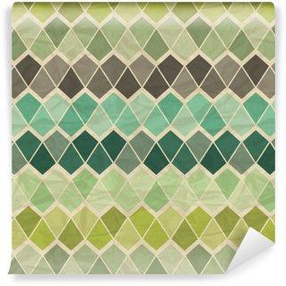 Fotomurales mexico papeles pintados lavables sin patron geometrico retro - Papel Tapiz Patrón Geométrico Triángulo 05