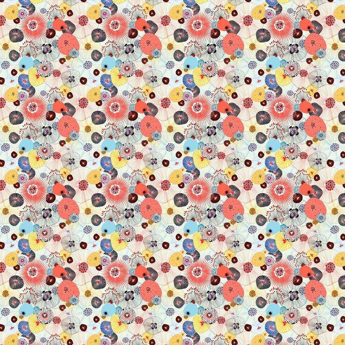 Fotomurales mexico papeles pintados lavables textura abstracta 1 - Papel Tapiz Floral Textura Abstracta 02