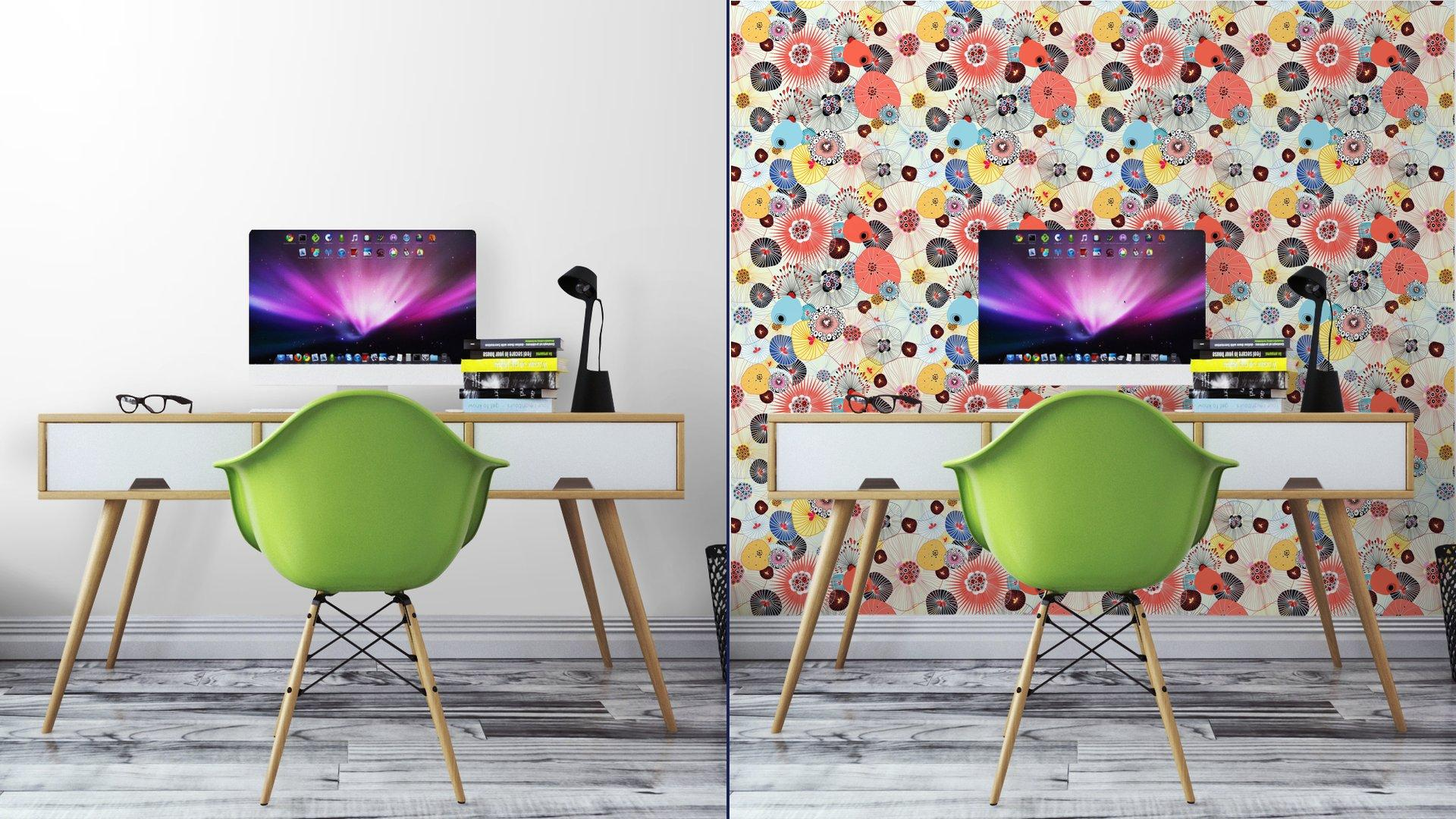 Fotomurales mexico papeles pintados lavables textura abstracta 2 - Papel Tapiz Floral Textura Abstracta 02