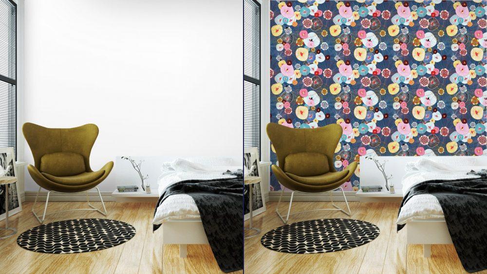 Fotomurales mexico papeles pintados lavables textura abstracta 4 1 1000x563 - Papel Tapiz Floral Textura Abstracta 01