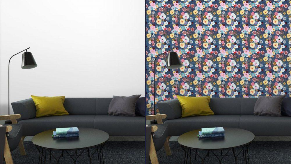 Fotomurales mexico papeles pintados lavables textura abstracta 6 1 1000x563 - Papel Tapiz Floral Textura Abstracta 01