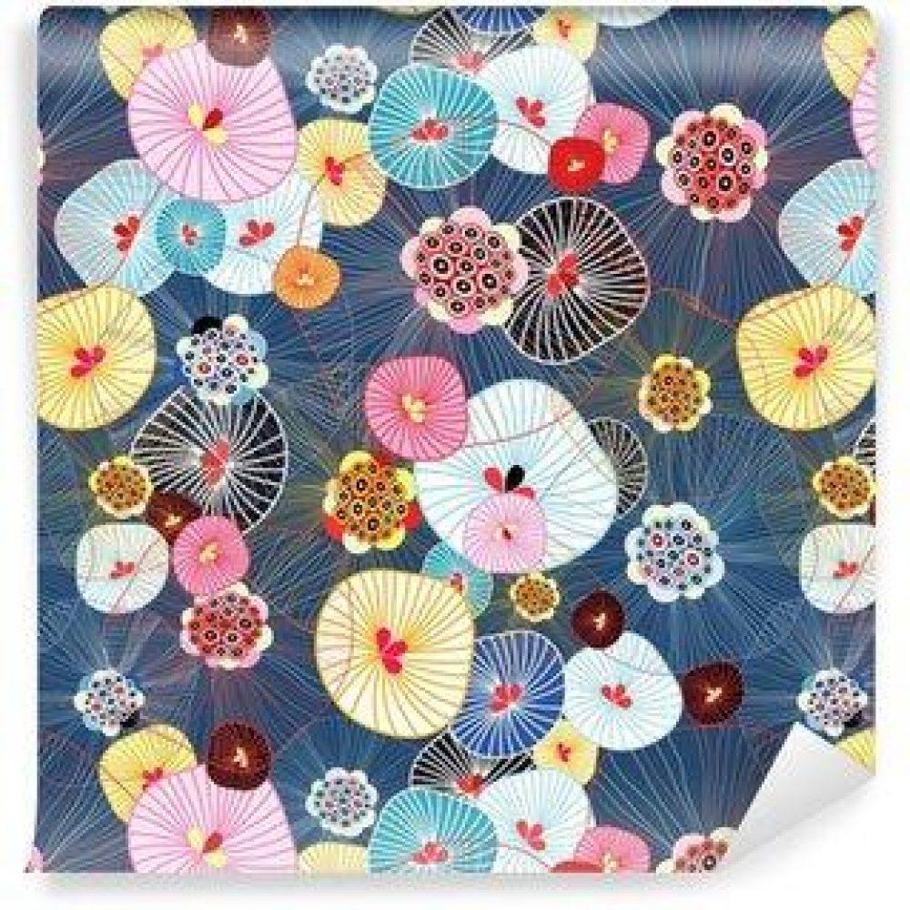 Fotomurales mexico papeles pintados lavables textura abstracta 7 1000x1000 - Papel Tapiz Floral Textura Abstracta 01