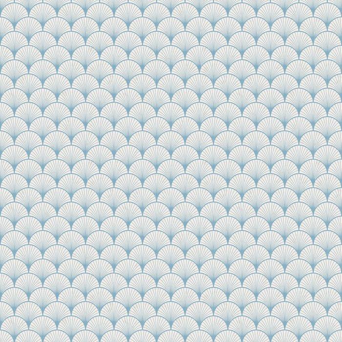 Fotomurales mexico papeles pintados lavables textura transparente de patron japones retro 1 - Papel Tapiz Patrón Abanico Estilo Vintage 01