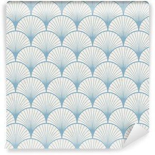 Fotomurales mexico papeles pintados lavables textura transparente de patron japones retro - Fotomural Papel Tapiz Barroco y Elegantes