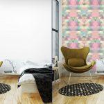 Fotomurales-mexico-papeles-pintados-lavables-triangulo-fondo-de-mosaico-fondo-geometrico 4