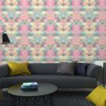 Fotomurales-mexico-papeles-pintados-lavables-triangulo-fondo-de-mosaico-fondo-geometrico 5