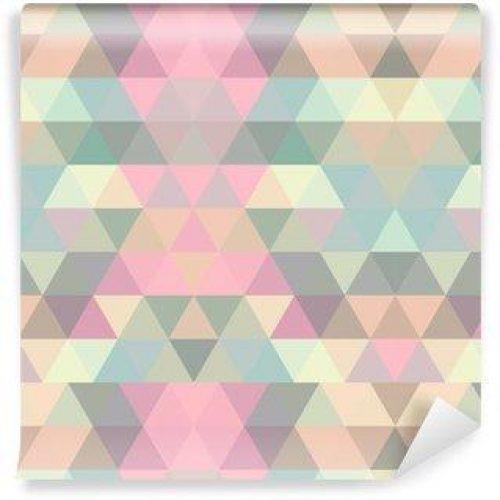 Fotomurales mexico papeles pintados lavables triangulo fondo de mosaico fondo geometrico 500x500 - Papel Tapiz Patrón Geométrico Triángulo 04