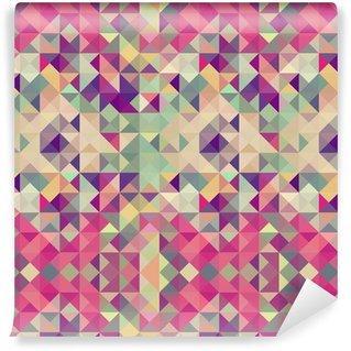 Fotomurales mexico papeles pintados lavables urbanitas vintage patron geometrico - Papel Tapiz Patrón Geométrico Triángulo 09