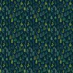 Fotomurales-mexico-papeles-pintados-lavables-vector-de-acuarela-verde-sin-fisuras-patron-floral 1
