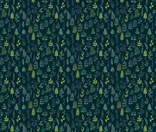 Fotomurales mexico papeles pintados lavables vector de acuarela verde sin fisuras patron floral 1 500x426 - Decoración de Oficinas y Empresas