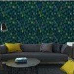 Fotomurales-mexico-papeles-pintados-lavables-vector-de-acuarela-verde-sin-fisuras-patron-floral 6
