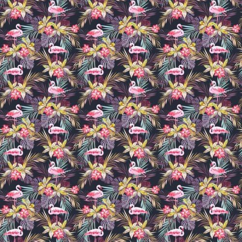 Fotomurales mexico papeles pintados modelo inconsutil del verano tropical con flamenco aves y plantas exoticas 1 500x500 - Decoración de Oficinas y Empresas