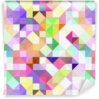Fotomurales mexico papeles pintados mosaico pastel brillante 9 - Fotomurales Papel Tapiz Vintage y Old Style
