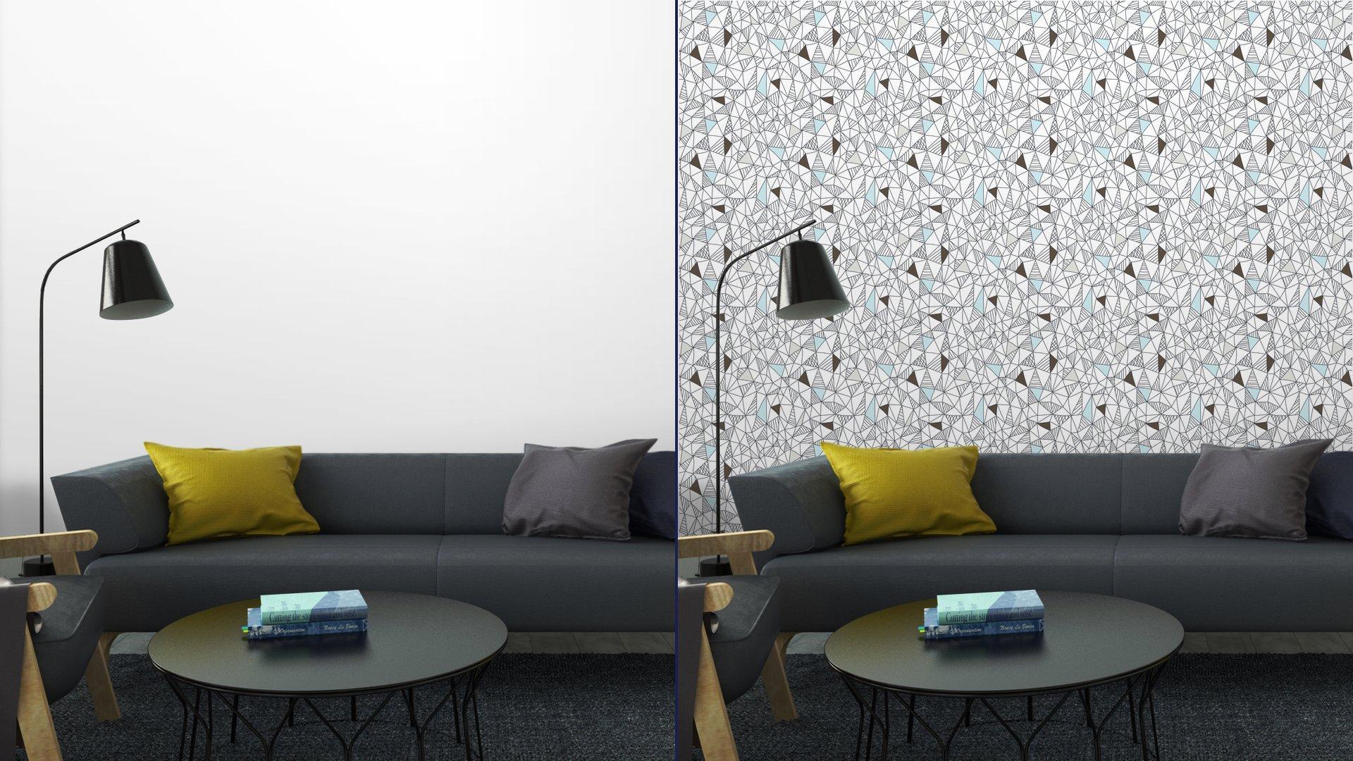Fotomurales mexico papeles pintados patron abstracto sin fisuras garabato 5 - Papel Tapiz Patrón Geométrico Abstracto Estilo Garabato 01