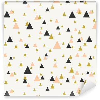 Fotomurales mexico papeles pintados patron abstracto sin fisuras geometrica - Papel TapizGeométrico Triángulo Fondo Blanco 02