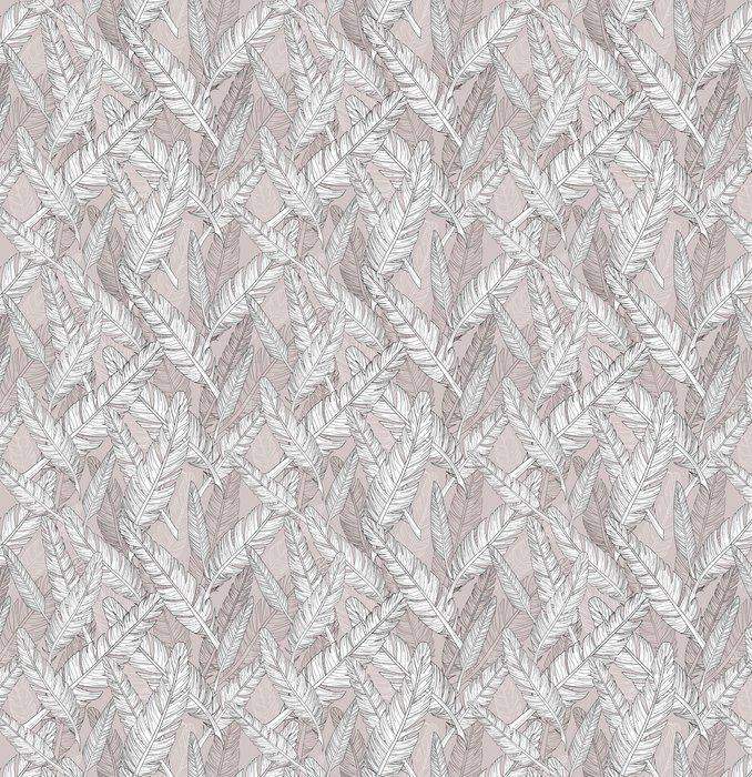 Fotomurales mexico papeles pintados patron de plumas abstract patron sin fisuras 1 - Papel Tapiz Abstracto con Patrón de Plumas 01