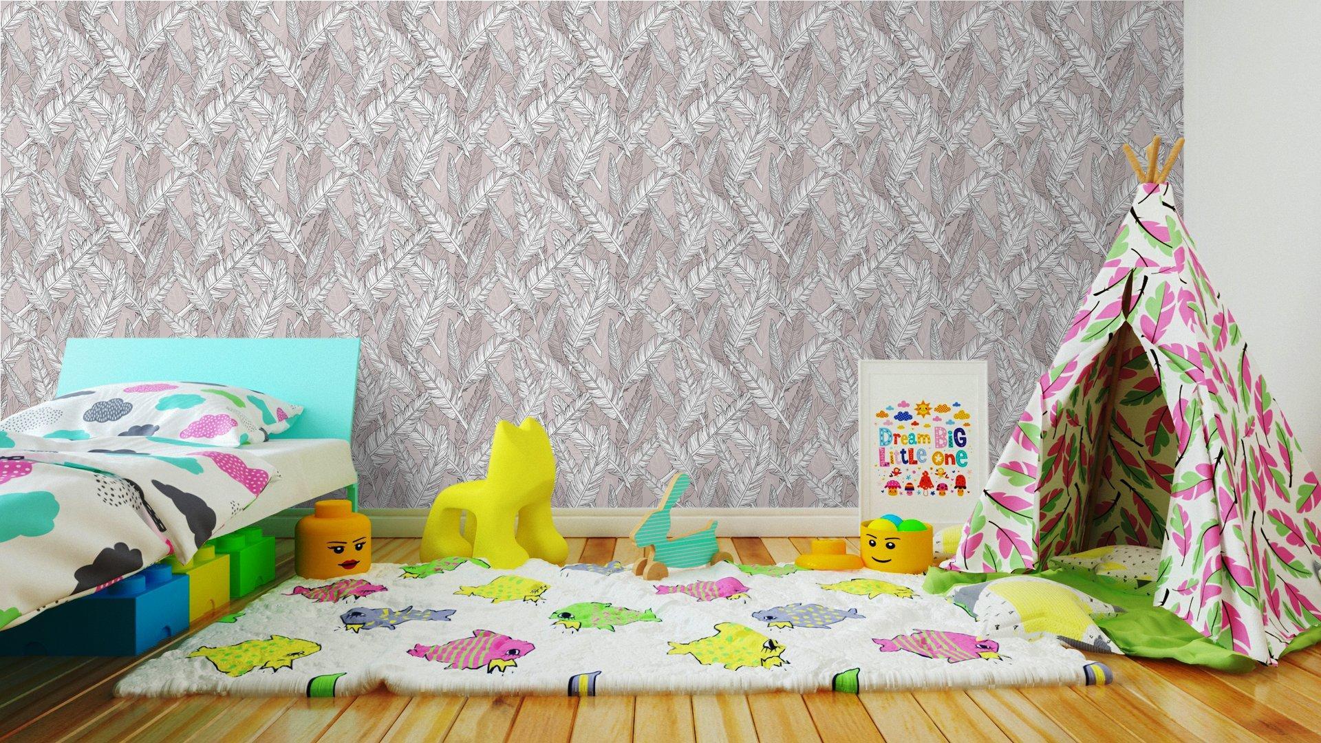 Fotomurales mexico papeles pintados patron de plumas abstract patron sin fisuras 7 - Papel Tapiz Abstracto con Patrón de Plumas 01
