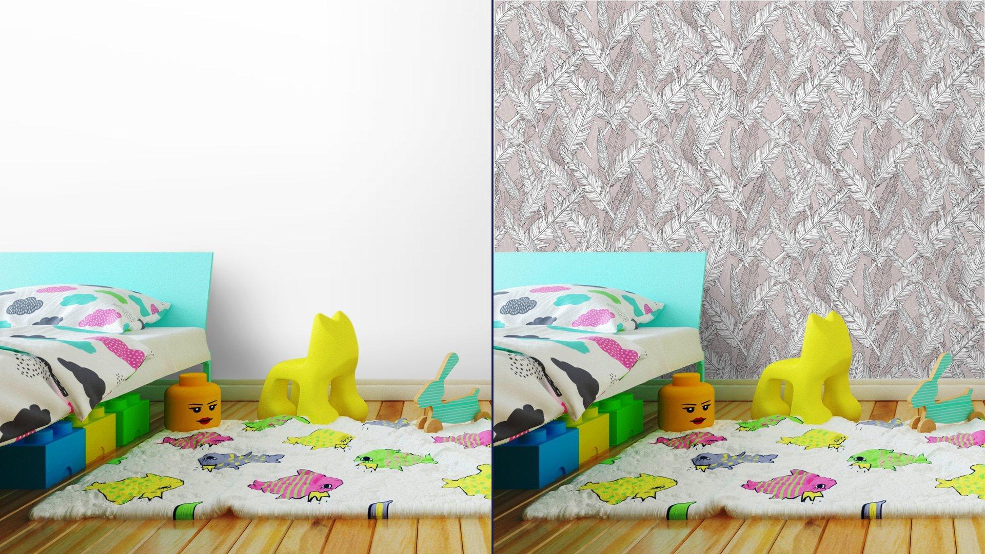 Fotomurales mexico papeles pintados patron de plumas abstract patron sin fisuras 8 - Papel Tapiz Abstracto con Patrón de Plumas 01