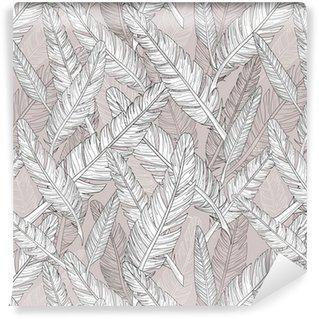 Fotomurales mexico papeles pintados patron de plumas abstract patron sin fisuras - Papel Tapiz Abstracto con Patrón de Plumas 01