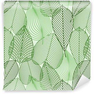 Fotomurales mexico papeles pintados primavera verde deja el modelo inconsutil - Papel Tapiz Primavera Hoja Verde 01
