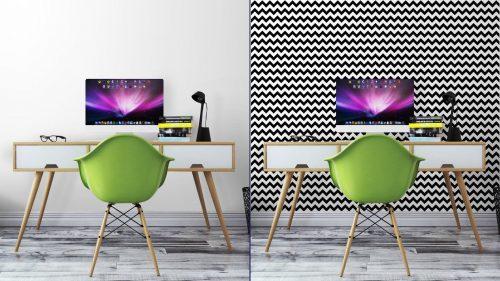 Fotomurales mexico papeles pintados resumen sin patron geometrico zigzag vector 7 500x281 - Decoración de Oficinas y Empresas