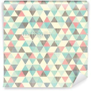 Fotomurales mexico papeles pintados seamless patron geometrico - Papel Tapiz Patrón Geométrico Triángulo 07