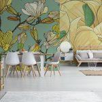 Fotomurales-mexico-papeles-pintados-textura-floral-sin-fisuras 2