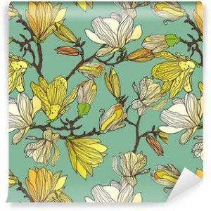 Fotomurales mexico papeles pintados textura floral sin fisuras 300x300 - Papel Tapiz