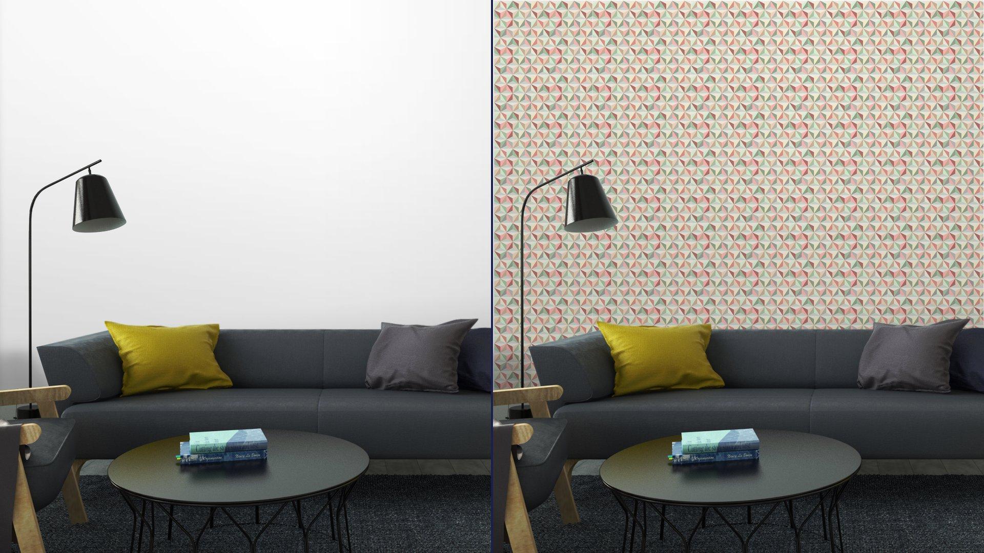 Fotomurales mexico papeles pintados triangulo sin fisuras patron 1 6 - Papel Tapiz Patrón Geométrico Triángulo 02
