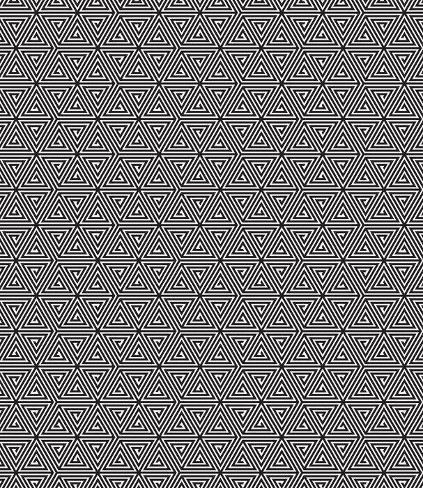 Fotomurales mexico papeles pintados triangulos blanco y negro modelo geometrico abstracto inconsutil 1 - Papel Tapiz Patrón Geométrico Triángulo 06