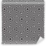 Fotomurales-mexico-papeles-pintados-triangulos-blanco-y-negro-modelo-geometrico-abstracto-inconsutil