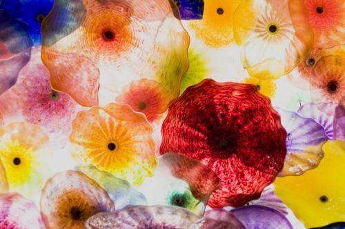 ARTE EN VIDRIO 500x333 - Fotomural Tapiz Patrón Floral 01