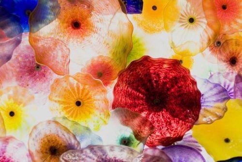 ARTE EN VIDRIO 500x334 - Fotomural Tapiz Patrón Floral 01
