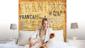 FONDO DE LA VENDIMIA FRANCÉS1 300x169 - Fotomurales Papel Tapiz Vintage y Old Style