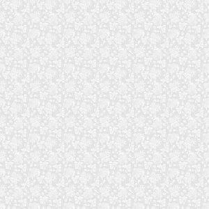 FONDO GRIS TRANSPARENTE CON EL PATRÓN BLANCO EN ESTILO BARROCO. VECTOR ILUSTRACIÓN RETRO. IDEAL PARA IMPRIMIR EN TELA O PAPEL 300x300 - Fotomural Papel Tapiz Barroco y Elegantes