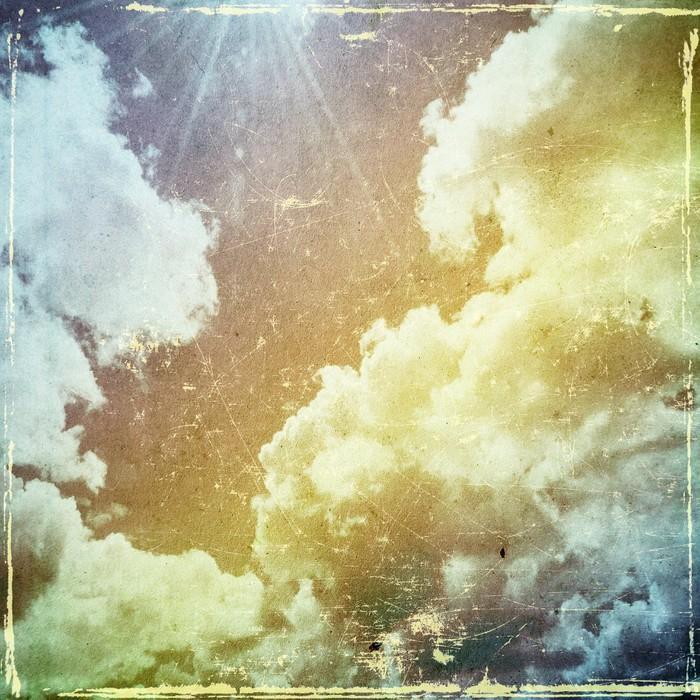 GRUNGE TEXTURA DE PAPEL. LA NATURALEZA DE FONDO ABSTRACTO - Fotomural Tapiz Abstracto Nubes Tipo Grunge