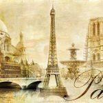 beautiful Paris – vintage post card