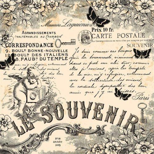 LA MEMORIA 500x500 - Fotomural Tapiz Le Souvenir (El Recuerdo)