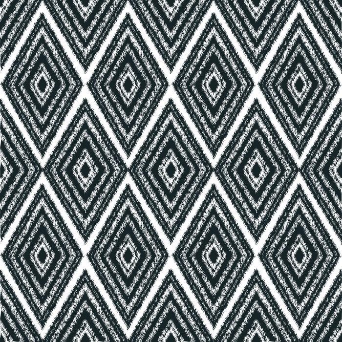 MODELO INCONSÚTIL DE LA TRIBU NAVAJO - Fotomural Tapiz Patrón Geométrico Abstracto Tipo Tribu Navajo