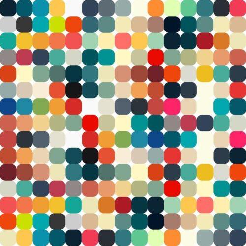 RETRO PATRÓN GEOMÉTRICO TRANSPARENTE PARA SU DISEÑO 500x500 - Fotomural Tapiz Patrón Geométrico Abstracto Tipo Retro 05